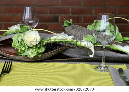 """decoration table"" - stock photo"