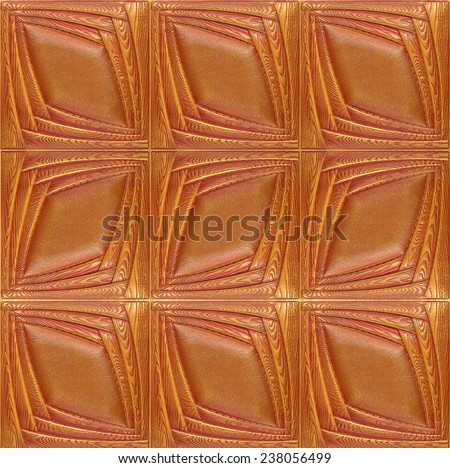 Decorative tile with texture of skin and volume drawing, nobody. - stock photo