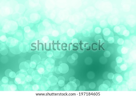 Defocused green abstract background.