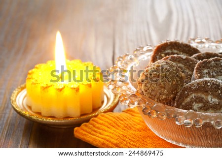 delicious coconut cakes - stock photo