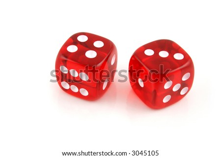 2 Dice close up- Seven the easy way