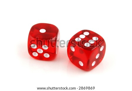 2 Dice close up- Seven Up