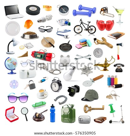 Household items stock images royalty free images for Other uses for household items
