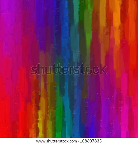 Digital structure of painting. Watercolor color background on a canvas. - stock photo