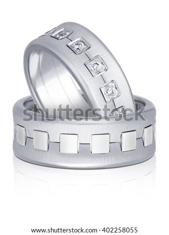 3-DIMENSIONAL RENDER OF WEDDING RING