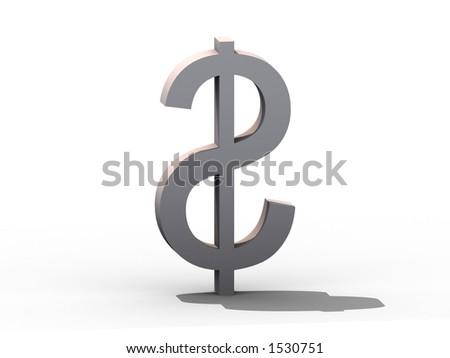 $ Dollar $ - stock photo