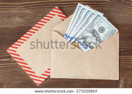 100 dollar  - stock photo