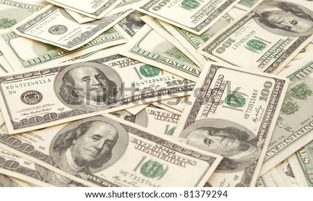 100 dollar bills bill,currency,dollars,excess,god,green,money,rich,trust,usa - stock photo