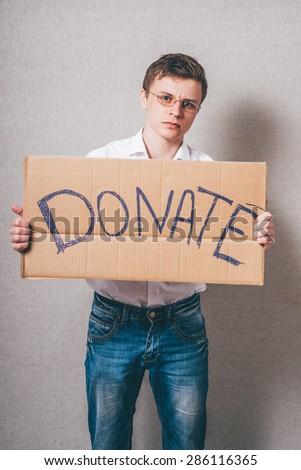 donations - stock photo