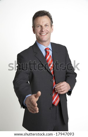 'done deal' - stock photo