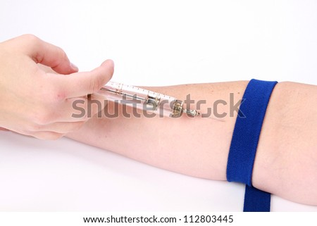 drawing blood procedure
