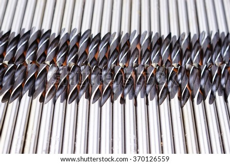 Drill bit for metal.  Background