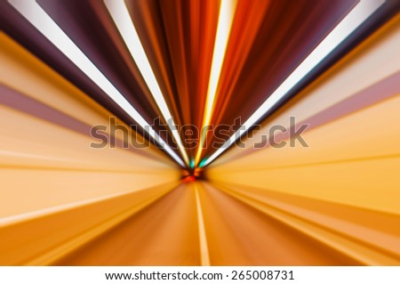 driving on a motorway at high speeds, overtaking other cars - stock photo