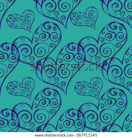 ?eart seamless pattern
