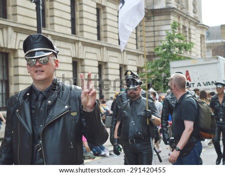 Editorial London pride 2015 Leather Police