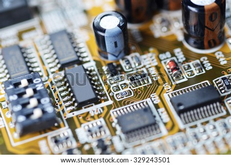 electronic mother board of computer