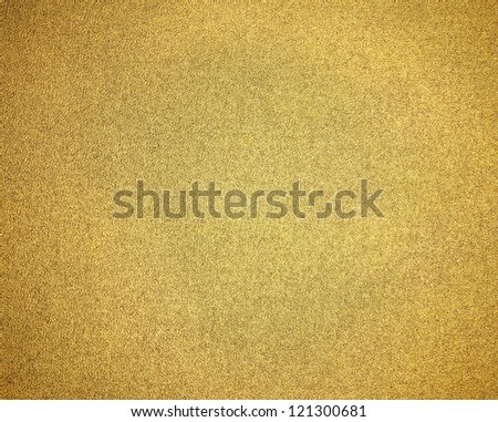 elegant gold background for Christmas holiday or golden anniversary background with smooth gradient texture with black border, luxurious gold paper for brochures or web template for luxury shiny ad - stock photo