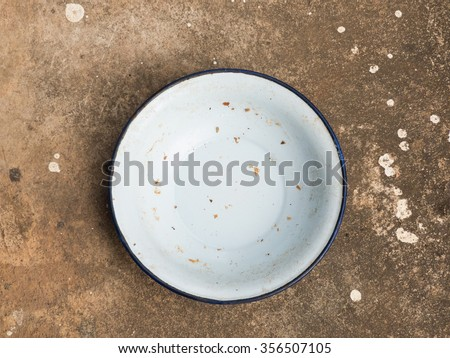 Empty Food Dish