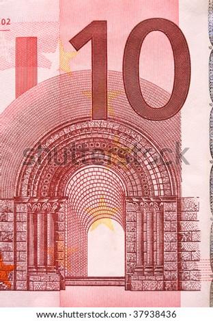 10  Euro - stock photo