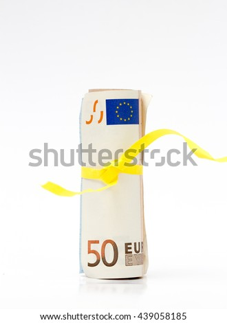 50 Euro banknote - stock photo