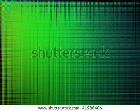 fabric blue background green - stock photo