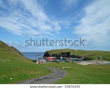 Fairisle Scotland Stock Photo 35876245 - Shutterstock
