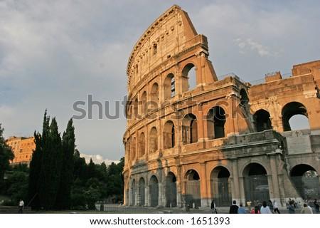 Famous Roman Landmark, - stock photo