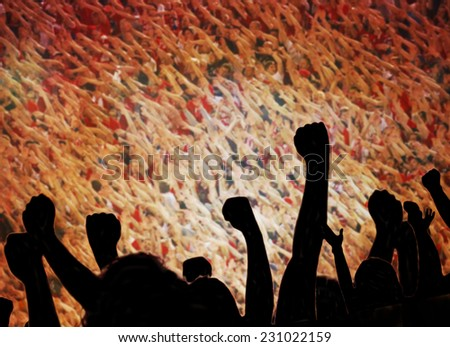 fan. - stock photo