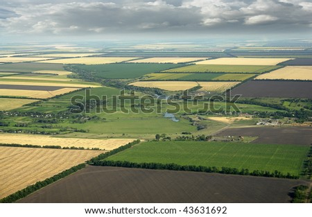 farm - stock photo
