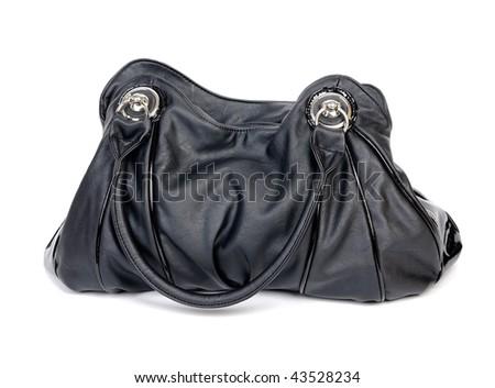 Fashionable shoulder bag - stock photo
