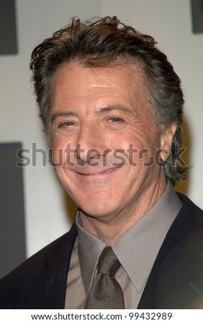 15FEB2000: Actor DUSTIN HOFFMAN at the nominations announcement for the 72nd Academy Awards.  Paul Smith / Featureflash