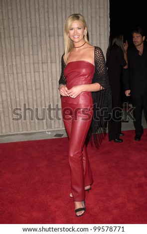 "03FEB2000:  TV presenter NANCY O'DELL at the world premiere, in Los Angeles, of ""Scream 3.""  Paul Smith / Featureflash"