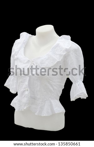 female dress mannequin - stock photo