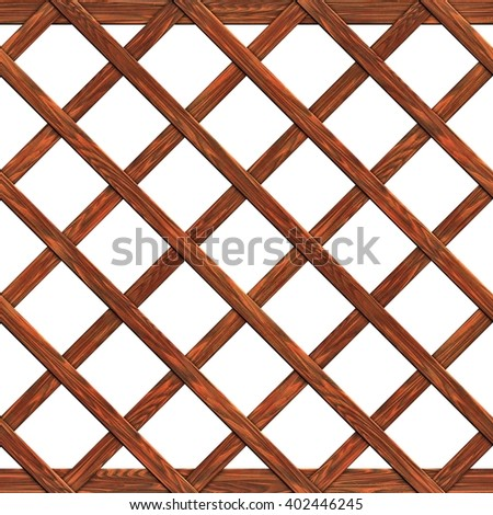 fence made of boards seamless texture 3d