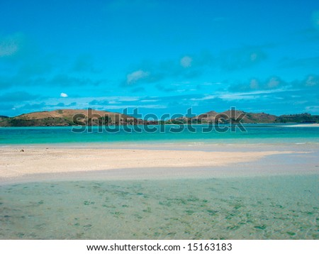 Fiji Beach - stock photo