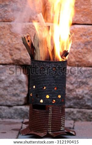 fire ton - stock photo