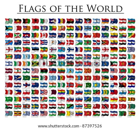 210 Flags of the World - updated on October 2011