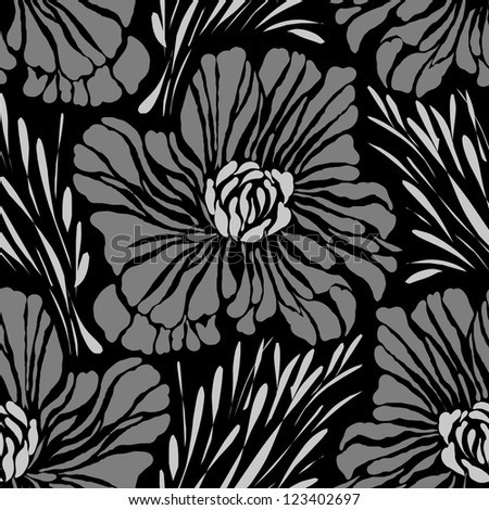 flower abstract  pattern design