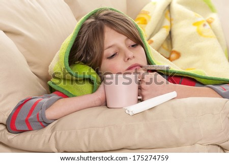 Flu Season - stock photo