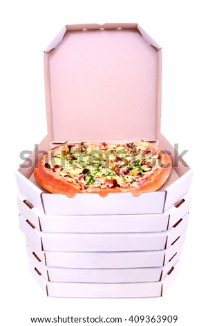 food pizza studio box open vertical boxes top