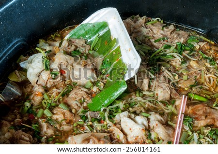 food scraps  - stock photo