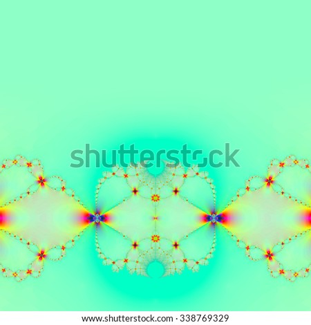 Fractal colorful and abstract,,background - stock photo