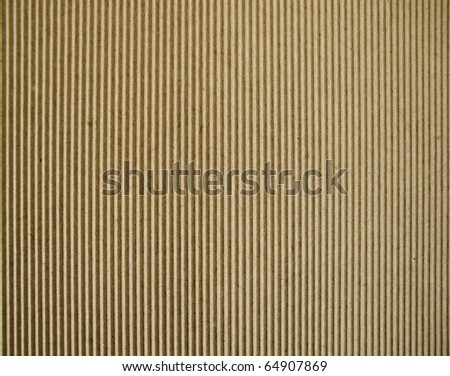 Fragment of corrugated carton - stock photo