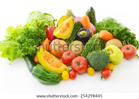 ?Fresh  vegetables - stock photo