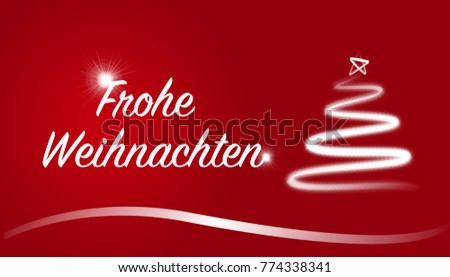 Frohe weihnachten german merry christmas greeting stock illustration frohe weihnachten german merry christmas greeting white letters on red background m4hsunfo