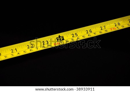 2ft on measuring tape