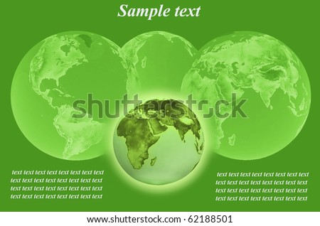 futurism image of earth