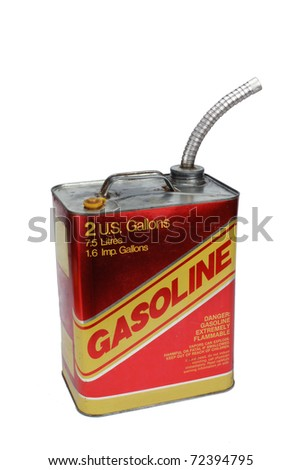 2 gallon gas can with pour spout