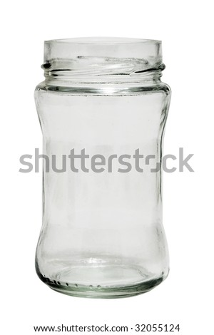 glass bottle - stock photo