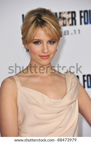 """Glee"" star Dianna Agron at the world premiere of her new movie ""I Am Number Four"" at the Mann Village Theatre, Westwood. February 9, 2011  Los Angeles, CA Picture: Paul Smith / Featureflash"